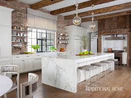 Glamorous Window Design With Couple Texas Kitchen With Rustic Glamour Traditional Home