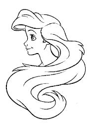 Coloriage Ariel 7