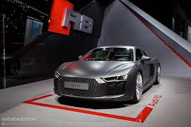 Audi R8 Grey - 2016 audi r8 v10 reveals the next era of german supercars in