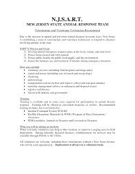 Veterinary Resume Sample by Resume Cover Letter Vet Tech Create Professional Resumes Online