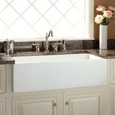 kitchen amazing farmhouse sink with drainboard porcelain kitchen