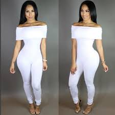 white romper jumpsuit 2018 fashion rompers jumpsuit bandage black white