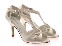 wedding shoes t bar womens t bar glitter satin strappy stiletto high heels bridal prom