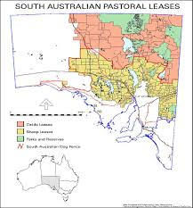 Australian Outback Map 4wdsa Pastoral Access