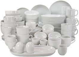 service de cuisine creatable 10467 série atelier blanc ensemble 80 pièces amazon fr