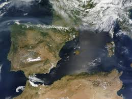 Canada Wildfire Satellite by North American Smoke Over Spain Natural Hazards