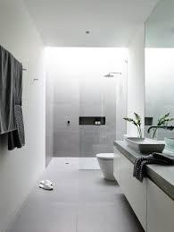 Scandinavian Bathroom Accessories by Big Bathroom Mirror Trend In Real Interiors