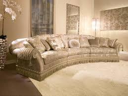 divani per salotti divano semicircolare imbottito per salotti classici idfdesign