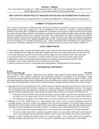 Senior Project Manager Resume Example by Andrew Battisti Senior Project Manager Resume May 2015