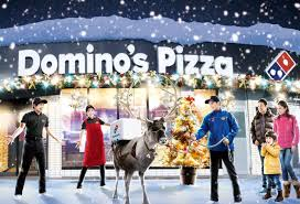 dominos black friday deals domino u0027s planning to use reindeer to deliver pizza in japan this