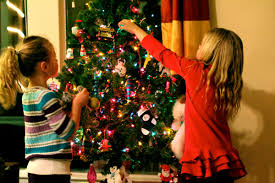 decoratedstmas trees with ribbon decorating tree ideas