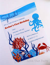32 best under the sea invitation images on pinterest under the