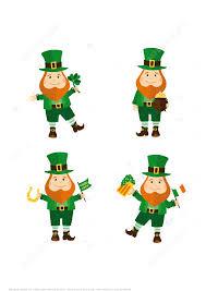 printable leprechaun stickers for st patrick u0027s day free