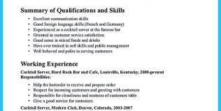 bartender resume sample bartender resume with highlighted soft