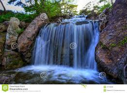 Chicago Botanic Garden Map by Waterfall At Chicago Botanic Garden Stock Photo Image 49109868