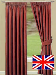 Terracotta Blackout Curtains Made To Measure Curtains Terracotta