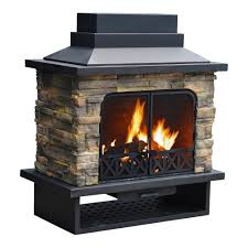 Landmann Grandezza Outdoor Fireplace by Sunjoy Outdoor Fireplace Cover Fireplace Ideas