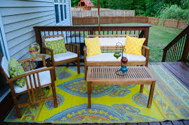 World Market Patio Furniture Deck Orating The Mini Deck Makeover Still Being Molly