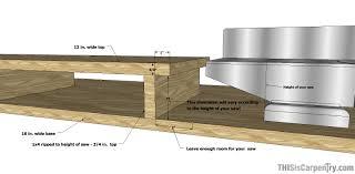 make a miter saw work station part 1 thisiscarpentry