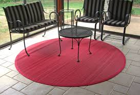 Round Red Rugs Round Outdoor Rug Made From Rocks Round Outdoor Rug For Your