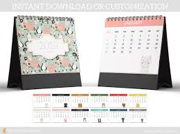 2018 calendar template 8 5x11 cartoon calendar cat calendar