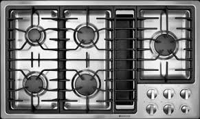 Gas Cooktop With Downdraft Vent Details Videos Jenn Air