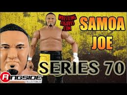 ringside collectibles black friday wwe figure insider samoa joe wwe series 70 wwe toy wrestling