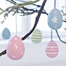handmade easter tree decorations offer stunning alternatives to