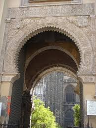 moorish architecture the moorish architecture of seville s cathedral photo