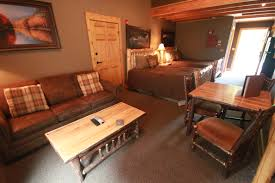 woodcreek cabin style inside the lodges at sunset village deep