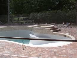 pool good looking backyard landscaping decoration using round