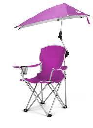 Campimg Chairs Toddler Camping Chair With Umbrella 360 Degree Sun And Wind