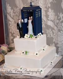 dr who wedding cake topper high five and groom figurines crafts tardis and