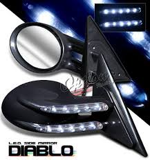 2005 toyota corolla side mirror toyota corolla 2003 2005 black diablo style power side mirror