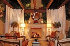 Outdoor Winter Curtains Adorable Outdoor Winter Curtains Ideas With Outdoor Living Spaces