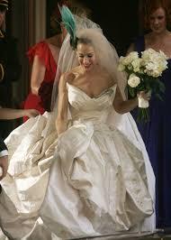 Vivienne Westwood Wedding Dress Carrie Bradshaw U0027s Wedding Dress By Vivienne Westwood Sold Out Luxuo