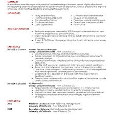 Top Ten Resume Format Great Resume Format Essential Element For Summary Of