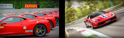 ferrary driving driving experience mont tremblant 2015