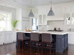 Grey Blue Cabinets Blue Gray Kitchen Houzz