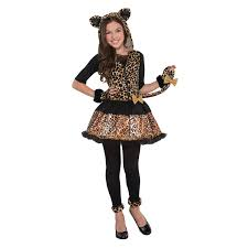 leopard halloween costume spirit halloween costumes for kids girls 10 and up at party city pr