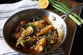 lemon and honey roasted fennel