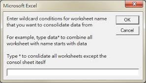 excel vba consolidate worksheets into one worksheet