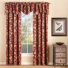 Valances Window Treatments by Melbourne Chenille Scalloped Valance With Cording Walmart Com