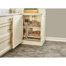 organizer for corner kitchen cabinet rev a shelf 15 in maple blind corner organizer soft