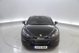 peugeot rcz black used 2015 peugeot rcz 1 6 thp r 2dr half leather climate