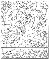 christmas hidden pictures printables u2013 happy holidays