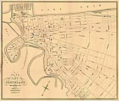 map of cleveland a brief history of city directory maps of cleveland ohio