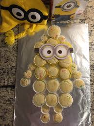 minion cupcake cake minions and more talk of the trains
