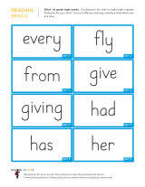 grade sight word flash cards printable dolch sight word flashcards school sparks