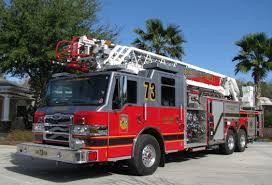osceola county fl fire rescue ladder 73 modern fire
